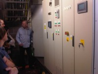 Behind the scenes - the power plant at The Baltic, June 2010